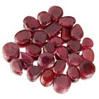 Beautiful healing Ruby velvet pouch Minerals/ Crystals, Polished