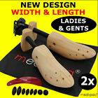 SHOE STRETCHER Trees x 2 * Bunion Mens Gents + Womens Ladies Lengthen AND Widen!