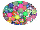 MULTI COLOURED RUBBER BOUNCY BALLS VARIOUS KIDS LOOT LUCKY DIP PRIZE PARTY BAG
