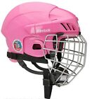 Reebok 3K Adjustable Pink Ice Hockey Helmet