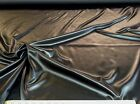 Discount Fabric Satin Taffeta Black 300SA