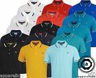 Lacoste Mens Casual Sport-Fit Plain Buttoned Placket Polo Shirt All Sizes L1A