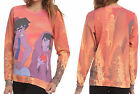 Disney Aladdin Jasmine Street Rat Pullover Sweatshirt Top Adult Licensed NWT