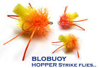 BLOBUOY Strike Indicators FAB Fritz Blob - SUNBURST HOPPER - Fly Fishing Flies
