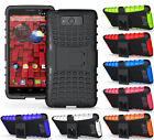 GRENADE GRIP RUGGED TPU SKIN HARD CASE COVER STAND FOR MOTOROLA DROID MAXX/ULTRA