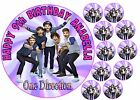 1D ONE DIRECTION HARRY ZAYN NIALL LOUIS LIAM HAPPY BIRTHDAY CAKE CUPCAKE TOPPERS