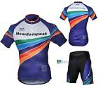 NEW Cycling Bicycle BIKE Comfortable outdoor Jersey + Shorts size S- XXXL PK