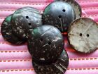 U pick 2Hole round Nature coconut buttons Dress Supplies DIY Scrapbooking Sewing