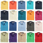 New Gioberti Kids Boys Solid Long Sleeve Dress Shirts , Sizes 4 , 5 , 6 , 7