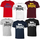 Lonsdale Classic Logo Lion T-Shirt Black Grey Blue Oxblood White Red XS-XXL