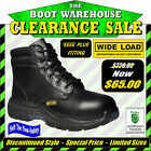 "Wide Load 'Prime Mover' Orthotic, Lace Up, Soft Toe, Non Safety, 6"" Work Boots."