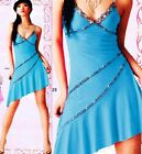 Sexy Ladies Cocktail Party&Casual Bridesmaid Candy Summer Beach Dress 6-10 6629