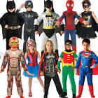 Childrens Super Hero Marvel Dc Comic Book Week Day Fancy Dress Costume Outfit