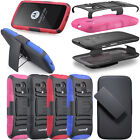 New Hard Shell Swivel Belt Clip Holster Combo Case w/ Stand For Motorola Moto G