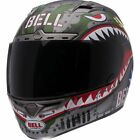 Bell Vortex Flying Tiger WWII Full Face Motorcycle Riding Helmet