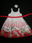 Girl's Topolino, Cotton, Fully Lined Dress, Size: 5 Left Only, BNWT!!!