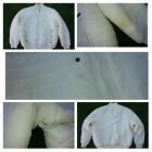 Mens Off White long sleeve puffy Jacket Sean John off white Jacket Coat XL