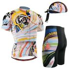 FIXGEAR CS-302 SET Cycling Jersey & Shorts Bicycle Wear Road Bike Beanie GIFT