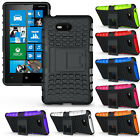 NEW GRENADE RUGGED TPU SKIN HARD CASE COVER STAND FOR AT&T NOKIA LUMIA 820 PHONE