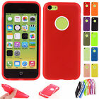 1Pc For Apple iPhone 5C Slim Thin TPU Soft Phone Skin Case Cover Hard Protective