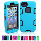 For Apple iPhone 5C IN 14 Colors Unique Silicone PC Protective Cases Covers Skin