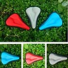 Soft Gel Silicone Cycling Bike Bicycle Comfortable Saddle Seat Cover Cushion Pad