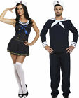ADULT SEXY SAILOR WOMEN & MAN NAVY UNIFORM OUTFITS PARTY FANCY DRESS COSTUMES