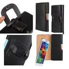 Glossy Leather Pouch Case Cover Belt Clip Holster For Samsung Galaxy S5 i9600