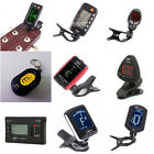 Mini Guitar Tuner Clip On LCD Adjustable For Violin Bass And More Optional