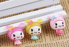 10pcs Resin Girls flatback Scrapbooking For DIY phone /craft/3 color