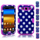 Dual-layer Skin Shockproof Durable Cover Case For Samsung Galaxy S3 SIII i9300