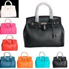 HOT SALE Womens Design PU Leather Handbag Shopper Messenger Tote Hobo Bag 7Color