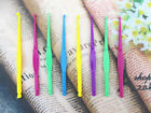 Mix Colors Plastic Hooks For Rainbow Rubber Loom Bands DIY Tools Select