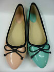 """SALE: £5.99 Spot-On Ladies Patent Ballerina Style Summer Shoes """"F8823"""""""