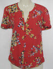 NEW LADIES FAT FACE ORANGE FLORAL TUNIC TOP SIZE 8 -18 BNWOT
