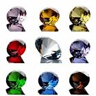 1Pc Cut Crystal Glass Diamond Paperweight Wedding Party Vence Decorations 1.2''