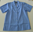 NEW Jenny Bobbin Herringbone Blue Business Shirts As Pictured