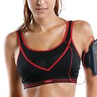 La Isla Women's Level 3 Racer Back Wirefree Ultimate Gym Active Sports Bra