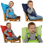 New Portable Travel Baby High Security Belt Chair Kiskise Infant Sacking Seats