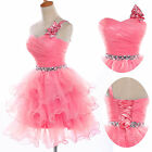 New TuTu Short Formal Cocktail Party Prom Bridal Gowns Evening Homecoming Dress