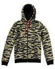 NEW DC Shoes™  Mens Rob Dyrdek Tigerstripe Zip Hoodie  DCSHOES