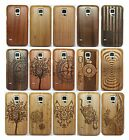 Samsung Galaxy S5 i9600 Design Genuine Real Neutral Wood Bamboo Hard Case Cover
