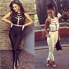 Sexy Womens gauze Outfits Bodycon Ladies Jumpsuit&Romper Trousers Clubwear