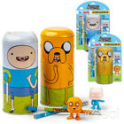 New Adventure Time Finn & Jake Tin-Tastic Creative Activity Sets & Pencils