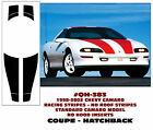 QH-383 1998-02 CAMARO STANDARD MODEL- RACING STRIPES - COUPE - NO ROOF STRIPE