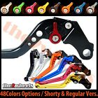 T2W CNC Adjustable Brake Clutch Levers Yamaha R6S USA VERSION 2006-2009