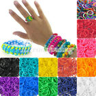 Approx 190pcs Refill Rubber Loom Bands With 15Pcs S Clips DIY Bracelet