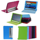 """PU Leather Folio Foldable Case Cover for Lenovo Yoga Tablet B8000 10.1""""10.1 inch"""
