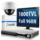 1 x 1000TVL Compacted Camera 8CH 960H D1 Video Recorder Wifi 3G Surveillance Kit