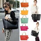 New Womens PU Leather Tote Shoulder Handbags Satchel Messenger bag Purse Hobo